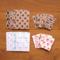 Photo1: mizushima x LIFE 8 Patterns Paper Bag
