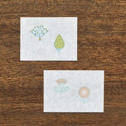 Photo3: JIZAI Clear Stamp  Picture Coloring set Tree