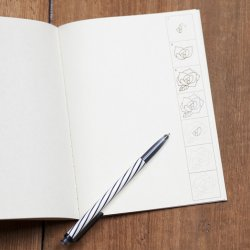 Photo2: Drawing Workbook Note for grown-ups